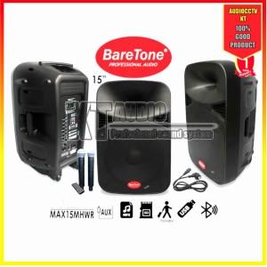 Harga speaker portable meeting wireless baretone 15mhwr 2 | HARGALOKA.COM