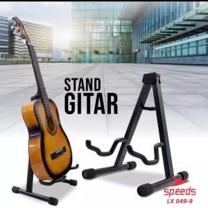 Harga stand gitar stand bass stand biola besi coating halus bisa dilipat | HARGALOKA.COM