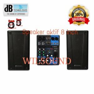 Harga paket sound system speaker aktif 8inch db technologies b hype 8   HARGALOKA.COM