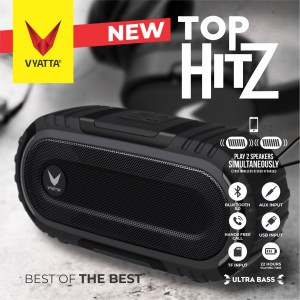Harga vyatta top hitz tws speaker   stereo bluetooth usb tf   ultra bass   briliant | HARGALOKA.COM