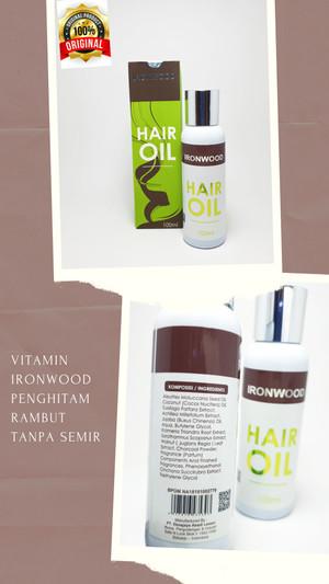 Harga vitamin ironwood penghitam rambut tanpa semir rambut | HARGALOKA.COM