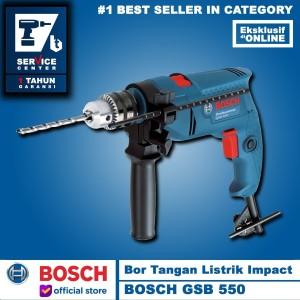 Harga mesin bor tangan   bosch gsb 550 13mm   gsb | HARGALOKA.COM