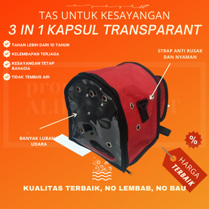 Harga tas kucing pet cargo tas hewan peliharaan transparan polos 3 in   HARGALOKA.COM