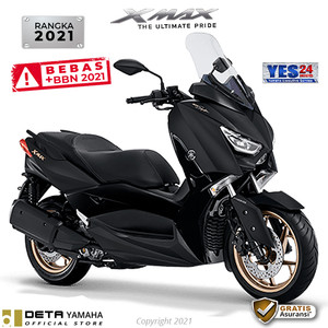 Harga deta yamaha xmax 2021 otr bks amp dpk sepeda motor   | HARGALOKA.COM