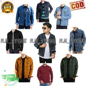 Harga jaket jeans pria levis denim termurah   bioblitz   HARGALOKA.COM