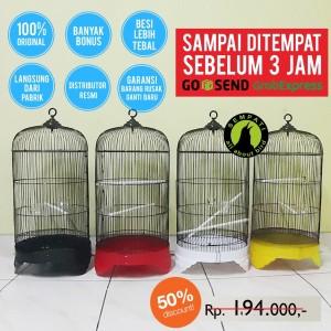 Harga sangkar lovebird besi import kandang burung lovebird parkit kenari     HARGALOKA.COM