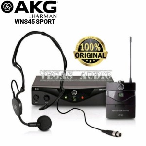 Harga akg wms45 presenter single microphone wireles clipon | HARGALOKA.COM