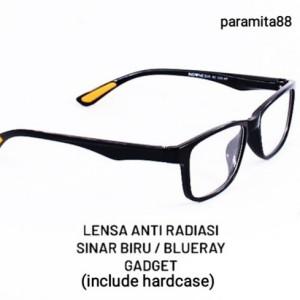 Harga kacamata anti radiasi blue cut blueray untuk belajar online game | HARGALOKA.COM