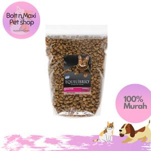 Harga equilibrio adult 1 kg repack makanan kucing premium murah | HARGALOKA.COM