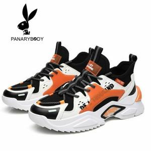 Harga sepatu pria sneakers import   sepatu olahraga trendy original   f301 hitam | HARGALOKA.COM