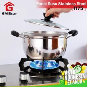 Harga gm bear panci stainless steel 1174 milk pan   18 | HARGALOKA.COM