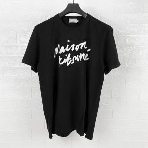 Harga maison kitsune handwriting classic tshirt | HARGALOKA.COM