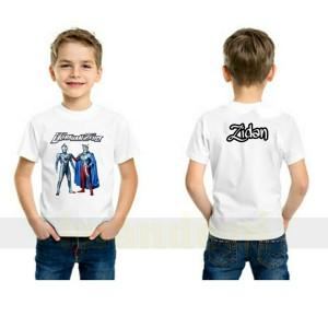 Harga kaos baju anak ultraman zero free nama kartun depan belakang terbaru     HARGALOKA.COM