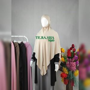 Harga jilbab bergo jersey ity khimar non pet hijab kerudung instan aisyah   | HARGALOKA.COM
