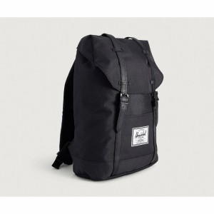 Harga tas herschel retreat original black   pu back pack 19 5 | HARGALOKA.COM