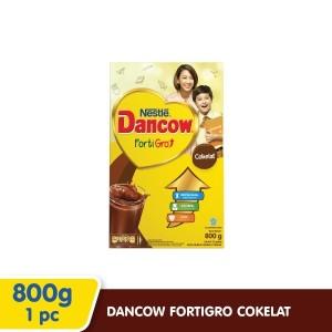 Harga susu dancow fortigro rasa coklat 800gr   HARGALOKA.COM