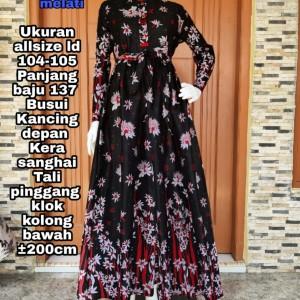 Harga cod baju pesta gamis batik terlaris keren longdress   c all | HARGALOKA.COM
