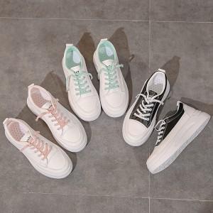Harga sepatu sneakers wanita olahraga import sepatu putih cewek korea sp 064   l2 pink | HARGALOKA.COM