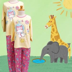 Harga baju tidur anak cewek anne claire kitty space st lgn pjg cln pjg   | HARGALOKA.COM