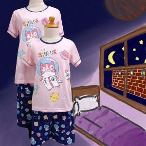 Harga baju tidur anak cewek anne claire kitty space st lgn pdk cln pdk   | HARGALOKA.COM