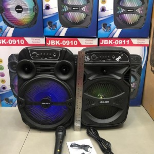 Harga speaker bluetooth mic jbk 0910 8 inchi super bass | HARGALOKA.COM