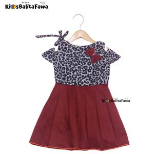 Harga dress rachel uk 2 3 tahun dres model baju anak perempuan gaun motif   motif | HARGALOKA.COM