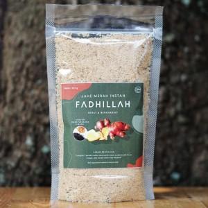Harga jahe merah bubuk fadhillah herbal instan plus habatussaudah dan | HARGALOKA.COM