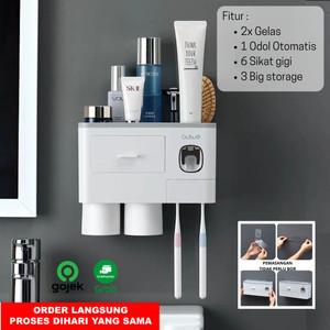 Info Dispenser Odol Dan Sikat Gigi Jinxin 300 Hitam Katalog.or.id