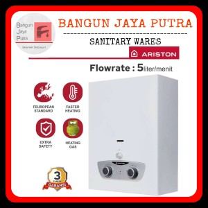 Harga water heater gas ariston fast r instant original new pemanas air | HARGALOKA.COM