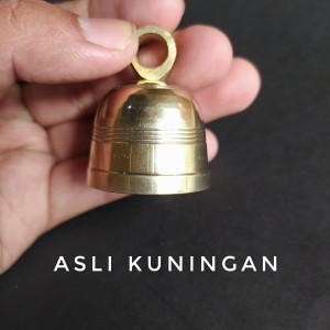 Harga bel lonceng kuningan motif lombok bel pintu natal bel | HARGALOKA.COM