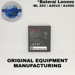 Harga baterai lenovo a2010 bl253 a1000 original battery batre a 2010 bl | HARGALOKA.COM