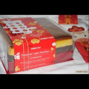Harga blessings premium lapis surabaya hampers imlek sinchia parcel cny   original 20x10 ecofriendly | HARGALOKA.COM
