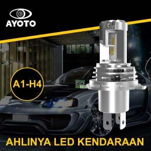 Harga lampu led mobil headlamp utama socket h4 hs1 hi low 35 35watt | HARGALOKA.COM