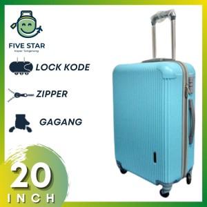 Harga koper kabin robert ansell 20in model 2018 biru   HARGALOKA.COM