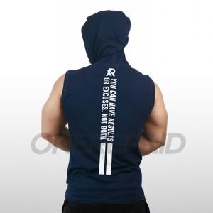 Harga onereps   baju kaos fitness gym olahraga   singlet gym hoodie   no ex   hijau | HARGALOKA.COM