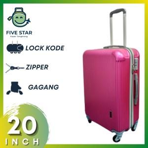 Harga koper fiber 20 inch robert ansell model 2018 warna merah   HARGALOKA.COM