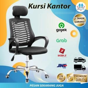 Harga kursi kantor kursi gaming kursi kerja bandung kursi jaring direktur   kaki   HARGALOKA.COM