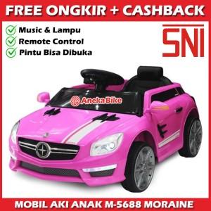 Harga mainan anak mobil aki pmb m5688 moraine murah   merah | HARGALOKA.COM