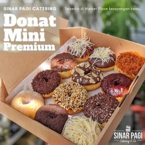 Harga donat mini premium sinar pagi catering rasa mix isi 15 pcs box   box   HARGALOKA.COM