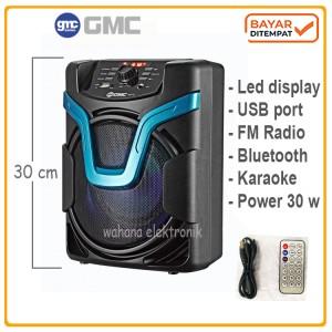 Harga speaker portable meeting bluetooth gmc 897d | HARGALOKA.COM
