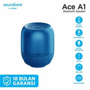 Harga speaker bluetooth soundcore ace a1 black   a3151   | HARGALOKA.COM