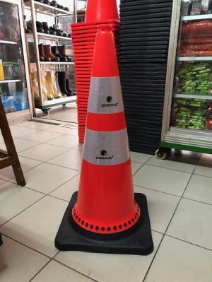 Katalog Gojek Traffic Cone 90 Cm Dasar Orange Double Scotlight Kerucut Katalog.or.id