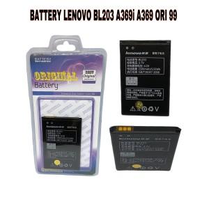Harga battery baterai batre lenovo a369 a316 bl203 original 99 | HARGALOKA.COM