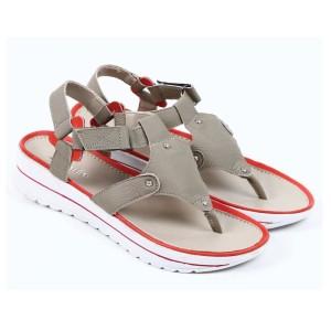 Harga sandal wanita zeintin wr 5888 olive   olive | HARGALOKA.COM