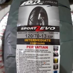 Harga ban fdr sport zevo 120 70 13 tubless nmax | HARGALOKA.COM