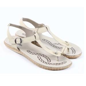 Harga sandal wanita zeintin wr 5779 cream   cream | HARGALOKA.COM