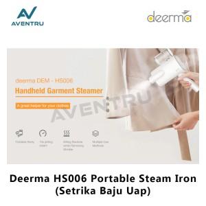 Harga deerma hs006 setrika baju uap portable electric steam | HARGALOKA.COM