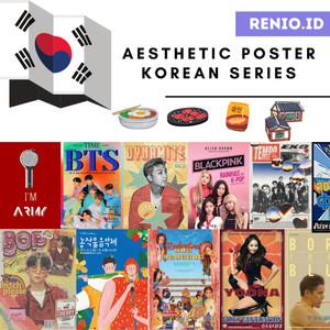 Harga poster aesthetic poster tembok korea bts blackpink army dinding murah   a5 16 | HARGALOKA.COM