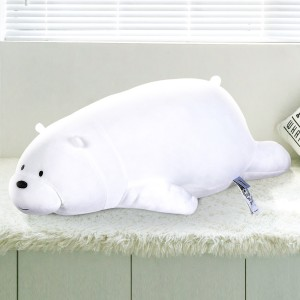 Harga miniso we bare bears boneka berbahan berbaring katun bantal lemb 80cm   ice | HARGALOKA.COM