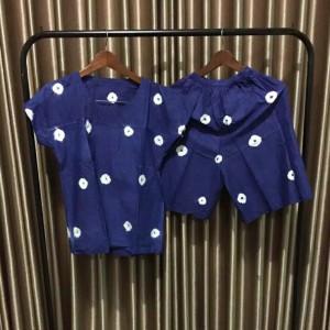 Harga setelan baju tidur wanita celana pendek jumputan oleh2 jogja primisima   | HARGALOKA.COM